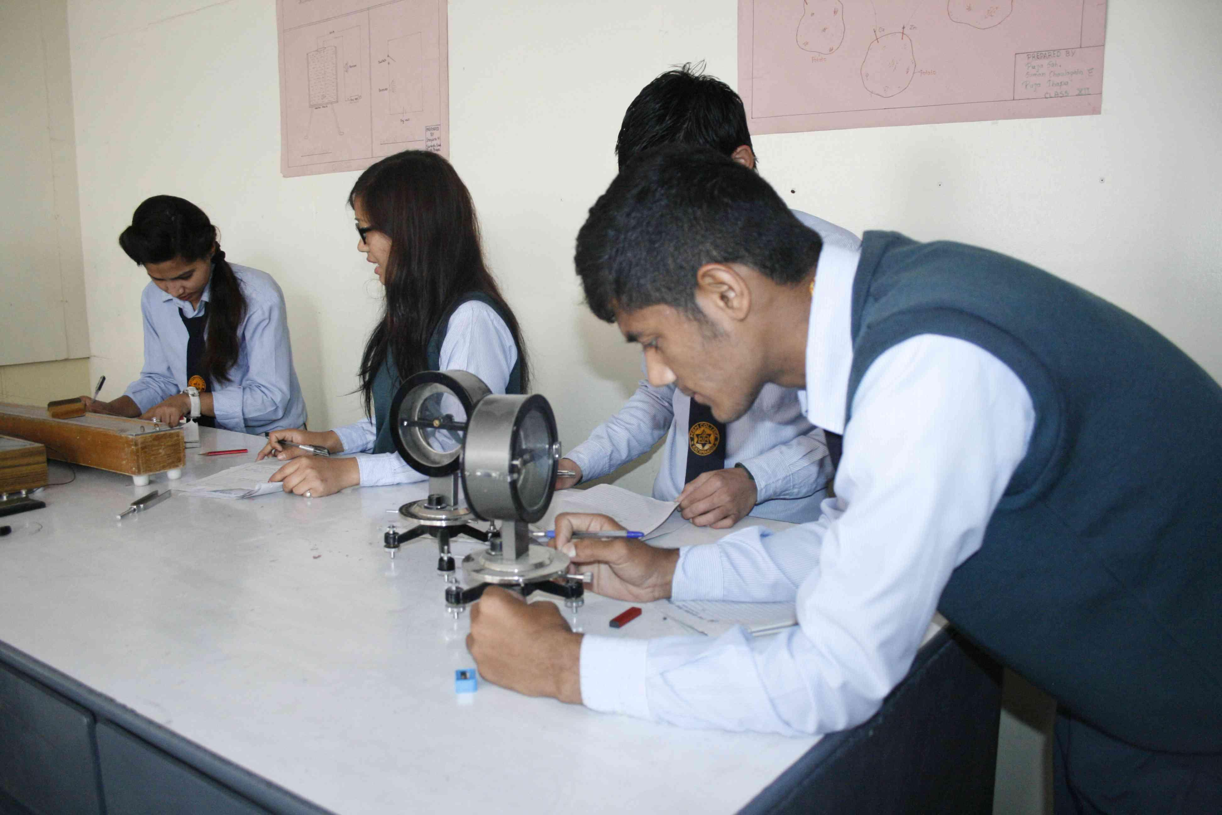 Science Practical 2072